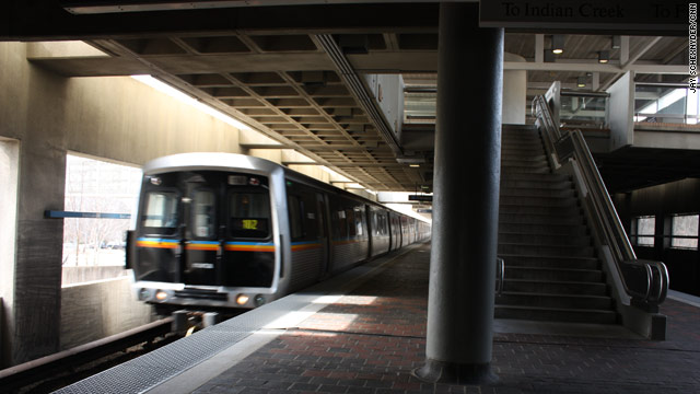 Woman trapped under Atlanta subway train