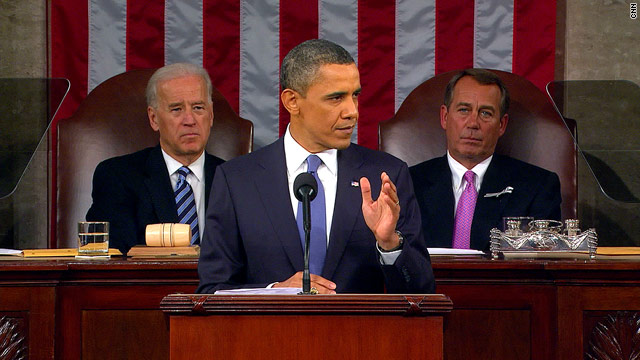 Live blogging the State of the Union address