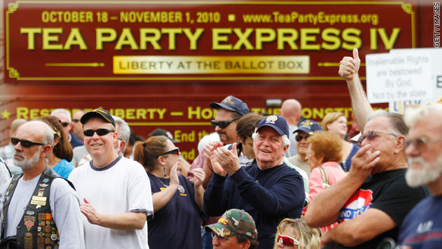Tea Party leader: Tea Party &#039;is not a wing of the Republican Party!&#039;
