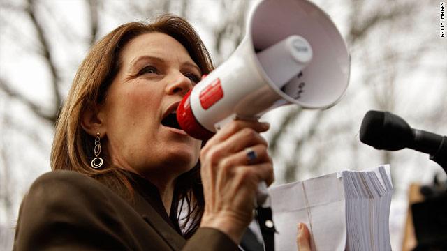 Bachmann's camera blunder?