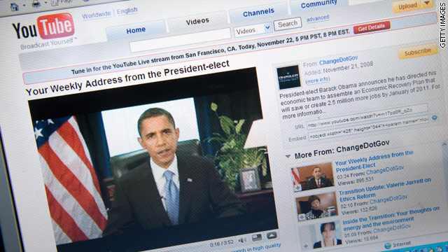 Obama to take YouTube questions on State of the Union speech
