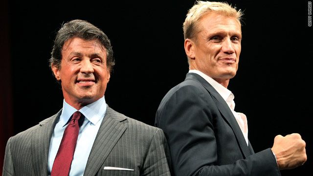 Sylvester Stallone confirms 'Expendables' sequel