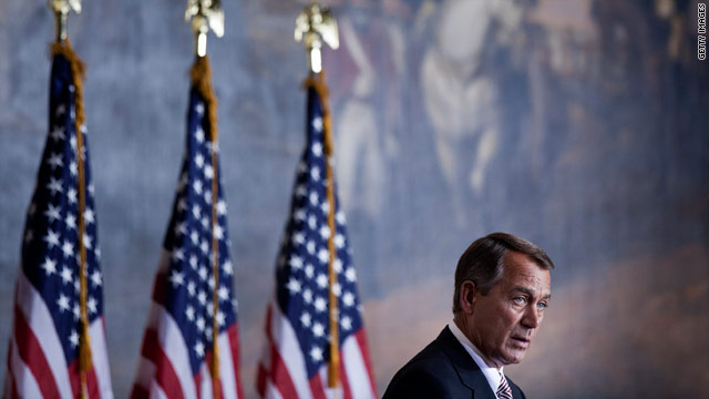 Boehner says Social Security reform should be considered