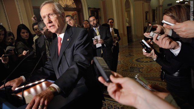Reid to Obama: 'Back off' on earmarks