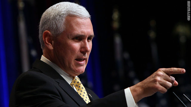 Republican governors urged Pence to pass on presidential bid