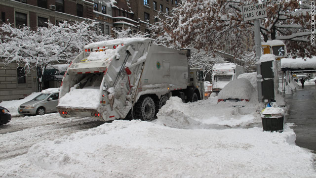 It's the snowiest January ever in NYC