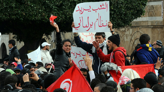 Social media's role in North Africa's unrest