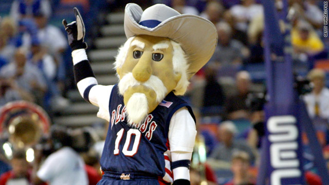 Legislator pushes bill to restore Colonel Reb as Ole Miss mascot