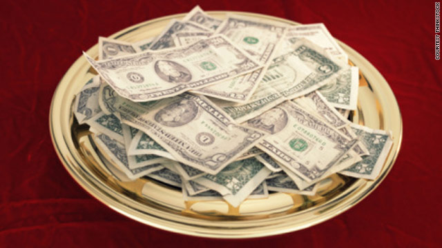 Survey: Minority of evangelical leaders say Bible requires tithing