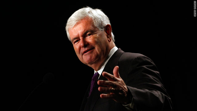 Gingrich ponders 'realistic possibility' of 2012 bid
