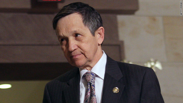 Kucinich settles dispute over olive