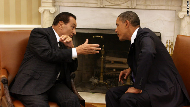 Obama speaks to Egyptian president
