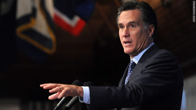 Romney hosting call with top donors