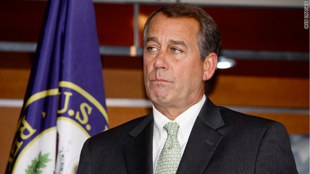 Boehner: No apologies for tears