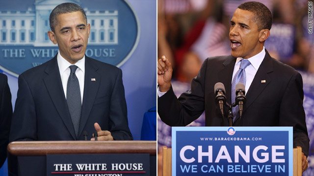 American Sauce: Obama now vs. then