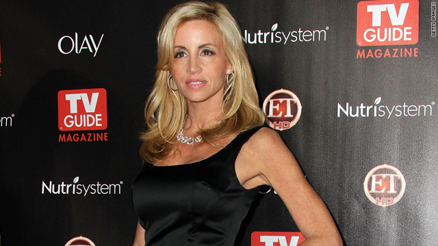 Camille Grammer questioned about alleged sexless marriage on &#039;The View&#039;