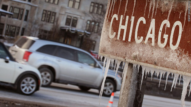 Major storm bringing snow, ice, tornadoes to central U.S., South
