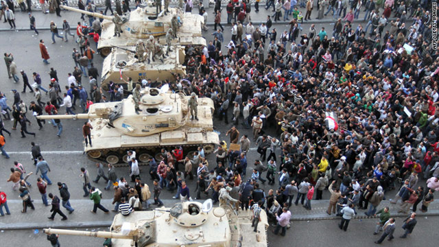 On the Radar: Egyptian protests, major winter storm, new dietary guidelines