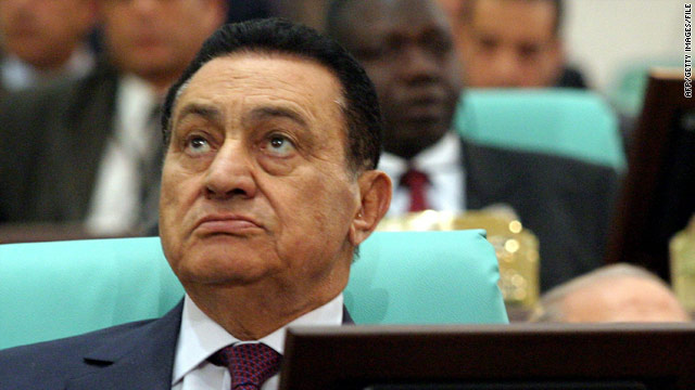 What's in Mubarak's mind? Former U.S. ambassador to Egypt may know