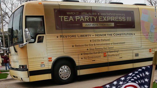 Ninety percent of Republicans want Tea Party to play a role
