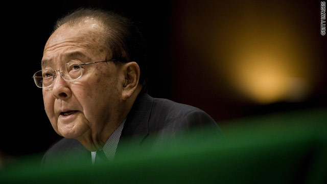 Hawaii Sen. Daniel Inouye dead at 88