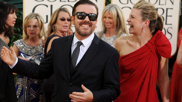Ricky Gervais: Golden Globes wants me back next year