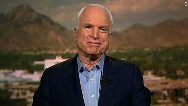 Senator McCain: The president would like to see you