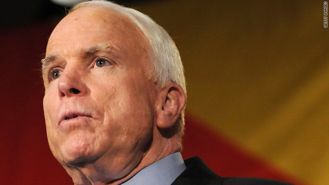 McCain: 'I'm not a starry-eyed idealist'
