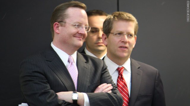 Robert Gibbs returns to press secretary job?