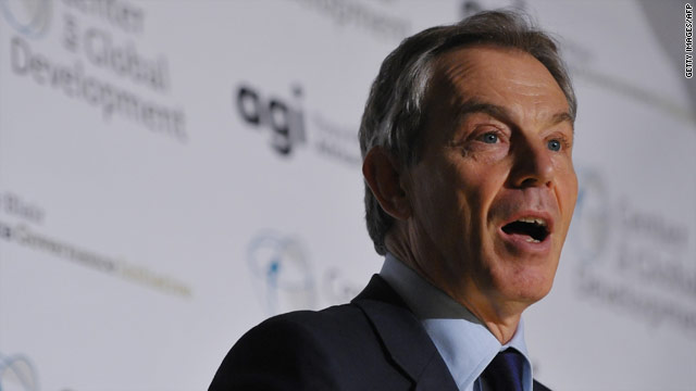 Treat Muslim Brotherhood with caution, Blair urges