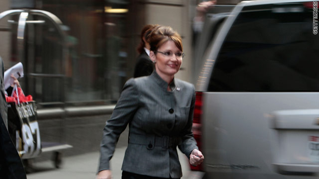 Palin: Obama's 3 a.m. call went to answering machine