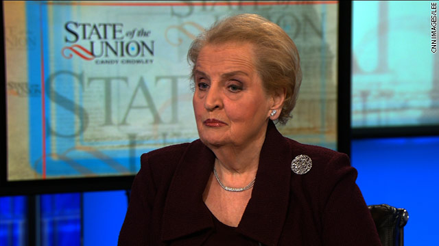 Albright: &#039;The Mubarak era is over&#039;