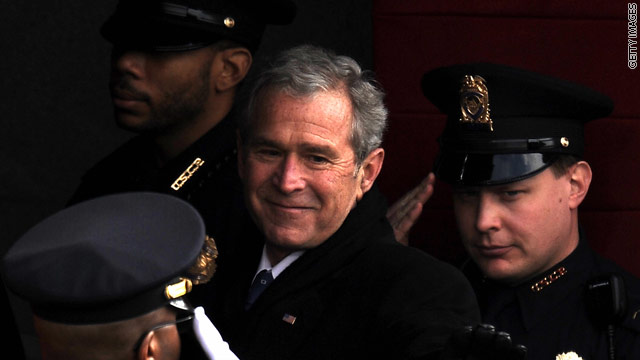 Bush trip to Switzerland canceled amid threatened legal action