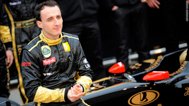 Formula One driver suffers serious injuries