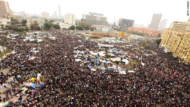 El Baradei Atinga Tahrir Square Misri Na Upinzani Wote Nyuma