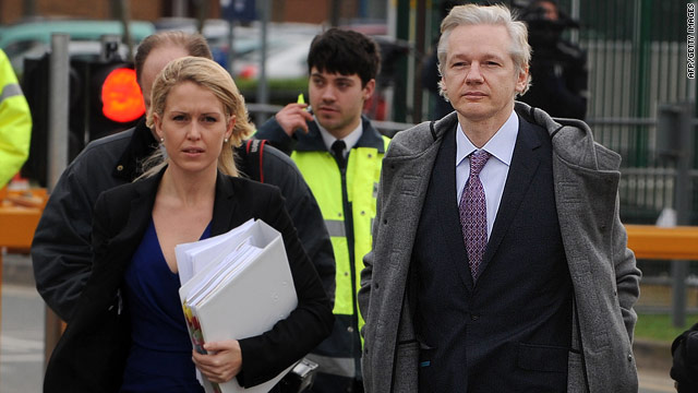 Assange lawyers raise specter of Guantanamo Bay
