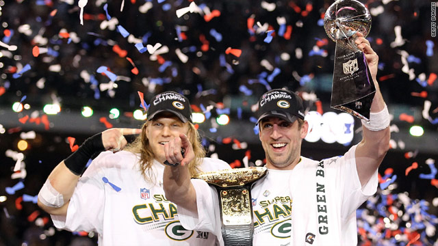Packers win Super Bowl