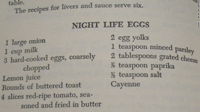 Vintage Cookbook Vault: Night life eggs