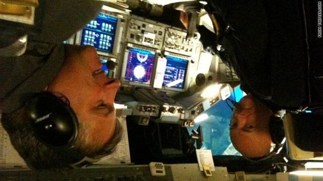 Astronaut Kelly: 'Back at work'