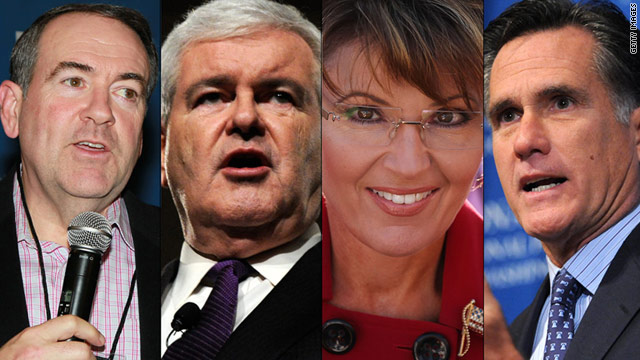 GOP frontrunners: 'It's all about who can get in last'