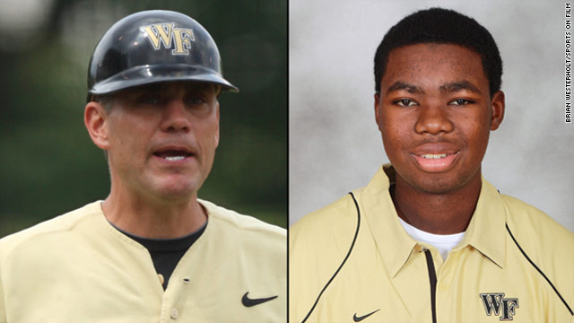Wake Forest baseball coach gives player kidney