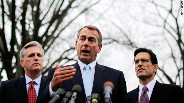 House Republican leaders poised to give in to conservative demands for more spending cuts