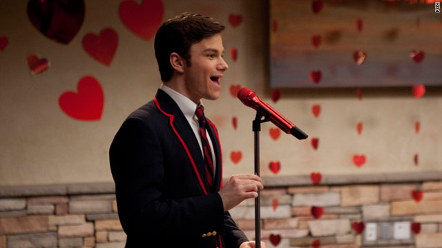 Love was in the air on 'Glee'