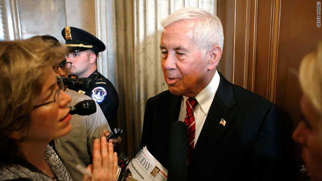Lugar responds to targeting by tea party group