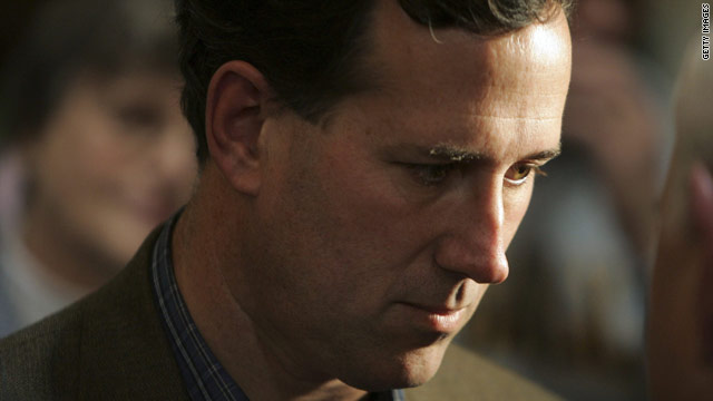 Santorum: McCain's the insider
