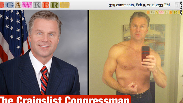 N.Y. Rep. Chris Lee resigns after Craigslist personals scandal