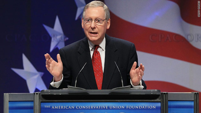 CPAC: McConnell pledges to end &#039;Obamacare&#039;