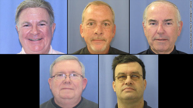 Three Philadelphia priests, teacher charged with sexually abusing boys