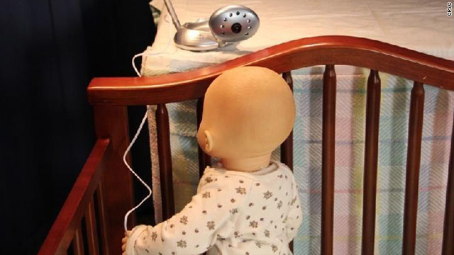 1.7 million baby monitors recalled after 2 infants strangled by cords