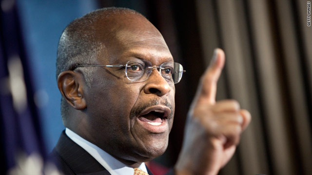 A defiant Cain takes on critics in New Hampshire